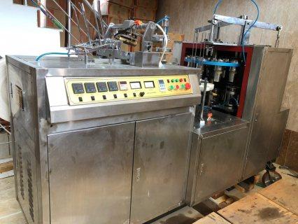 ماكينة تصنيع الاقداح الورقية