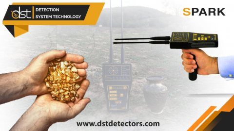 اكتشف الذهب والمعادن تحت الارض بسرعا كبيرة بجهاز كشف الذهب سبارك