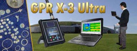 جهاز GPR X3 Ultra النظام التصويري لكشف المعادن في باطن الارض