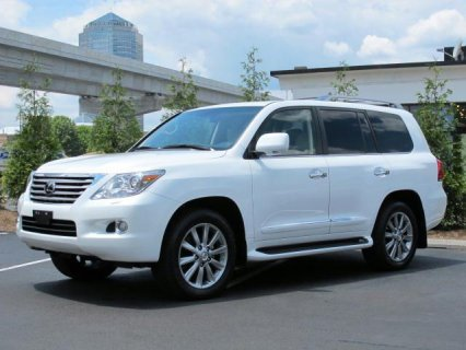 WTS MY USED 2011 LEXUS LX 570 SUV FULL OPTION