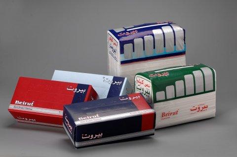 مصنع مناديل ورقية يطلب وكيل في العراق