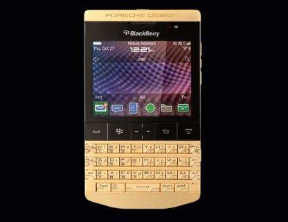 For Sale: Blackberry porsche Design p\'9981 :1800 AED Vip pin