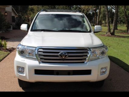 Sell my 2013 Toyota Land Cruiser