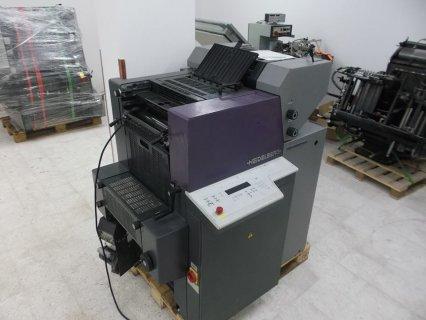 للبيع ماكينة طباعة كويك ماستر هايدلبرج 2 لون 3