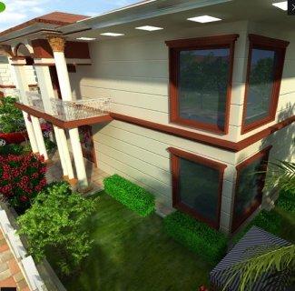 منزل جاهز للسكن بمساحه 250متر