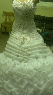 موديلات فساتين الزفاف والخطوبة2014
