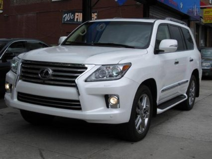 2013 Lexus Lx570 Full Option