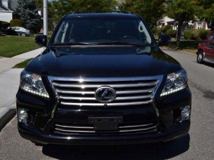 Lexus LX 570 2013 Black SUV