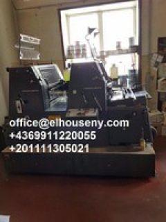 8ماكينة طباعة هايدلبرج جي تي1992