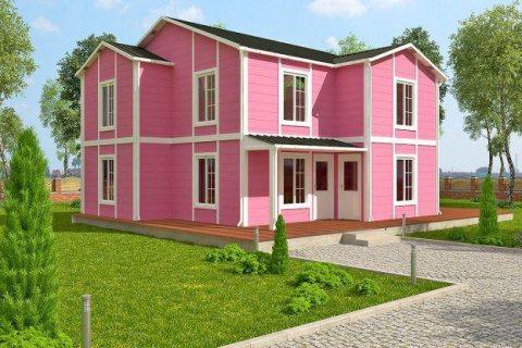 بيوت جاهزة من طابقين
