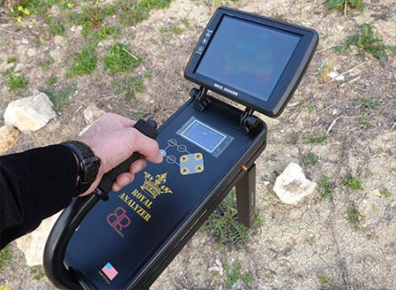المحلل الملكى افضل جهاز تصويرى كاشف للذهب لعمق 32 متر تحت الارض