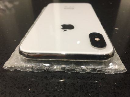 Apple iPhone X with FaceTime 256GB 4G LTE Silver & iWatch 3