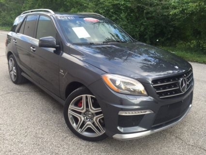 Mercedes Benz ML63 AMG 2014