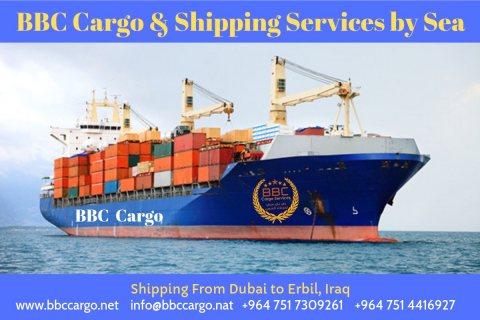 شركة شحن الاثاث من دبي  الى العراق و كوردستان 009647514416927