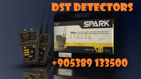 Underground Gold Metal Detector SPARK By DST turkey