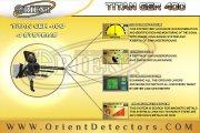 تيتان 400 جهاز كشف الذهب المتعدد الانظمة